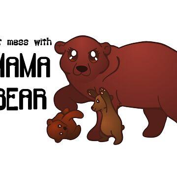 Mama Bear by Ashkerdoodles