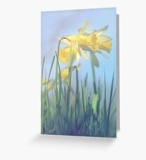 Standing still Greeting Card