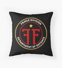 Fringe Division Throw Pillow