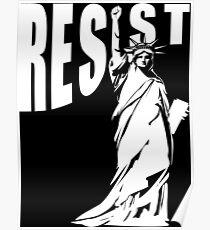 Resist Lady Liberty Poster