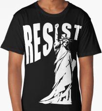 Resist Lady Liberty Long T-Shirt