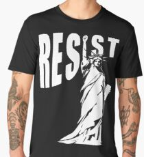 Resist Lady Liberty Men's Premium T-Shirt