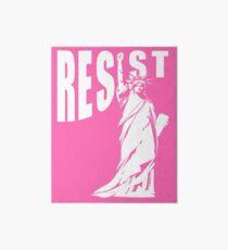 Resist Lady Liberty Art Board