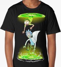 Rick and Morty (Portals) Long T-Shirt