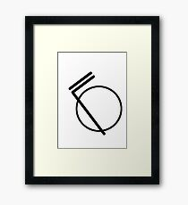 Sports logo or something who knows Framed Print