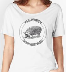 Tamworth Born and Bred Women's Relaxed Fit T-Shirt