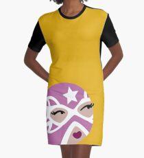 Luchadora Graphic T-Shirt Dress