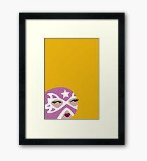 Luchadora Framed Print
