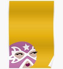 Luchadora Poster