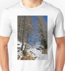 Snowy Trees on Monte Lussari  T-Shirt