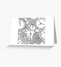 Time is of the essence Greeting Card