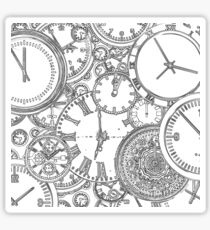 Time is of the essence Sticker