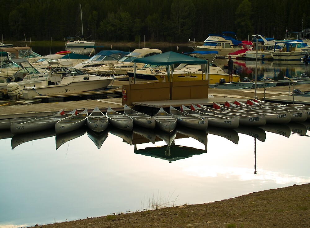 Marina Reflections by Mike Needham