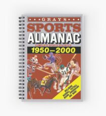 Back to the Future - Grays Sports Almanac Spiral Notebook