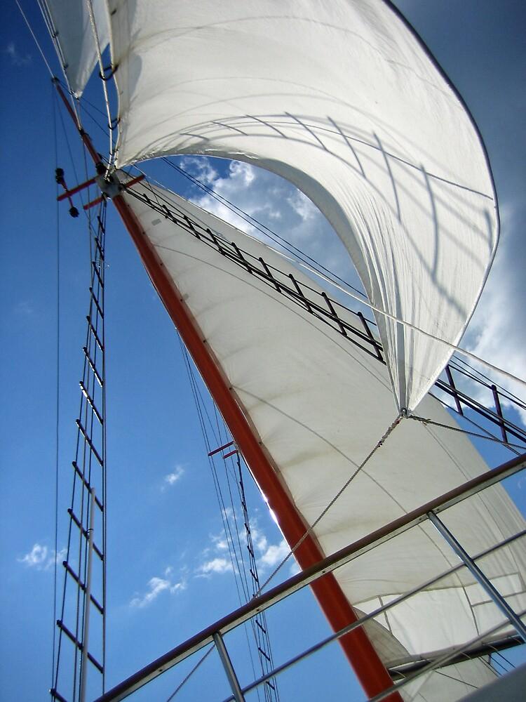 Sailing, Croatia by Leigh Penfold