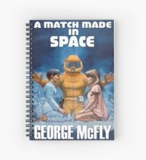 Back to the Future - A Match Made In Space Spiral Notebook