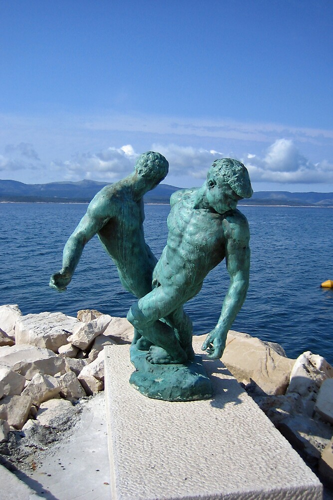 Bronzed Fishermen, Bol by Leigh Penfold