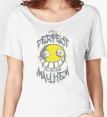 Perfect Day for Mayhem (Alternate) Women's Relaxed Fit T-Shirt