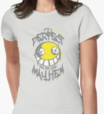 Perfect Day for Mayhem (Alternate) Womens Fitted T-Shirt