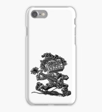 Eight Track Recorder Guitar Player iPhone Case/Skin