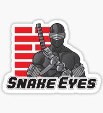 Snake Eyes — G.I. Joe Sticker