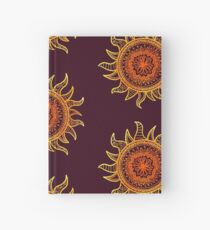 Sun Mandala Hardcover Journal