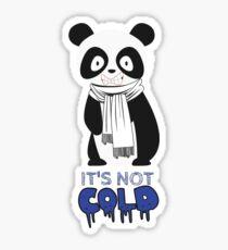 """""""The Cold Panda"""" Graphic Print Sticker"""