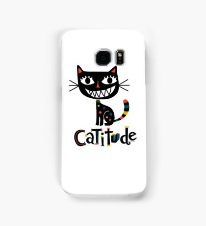 Catitude Samsung Galaxy Case/Skin
