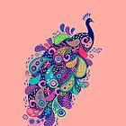 Paisley Peacock by Jill O'Connor
