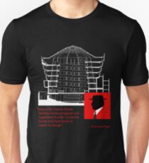 Frank Lloyd Wright, Master of Architecture Unisex T-Shirt