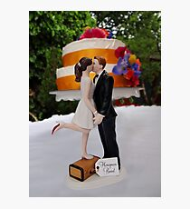 Wedding Cake Topper Photographic Print
