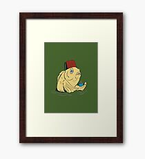 Night of the Cuppa Framed Print