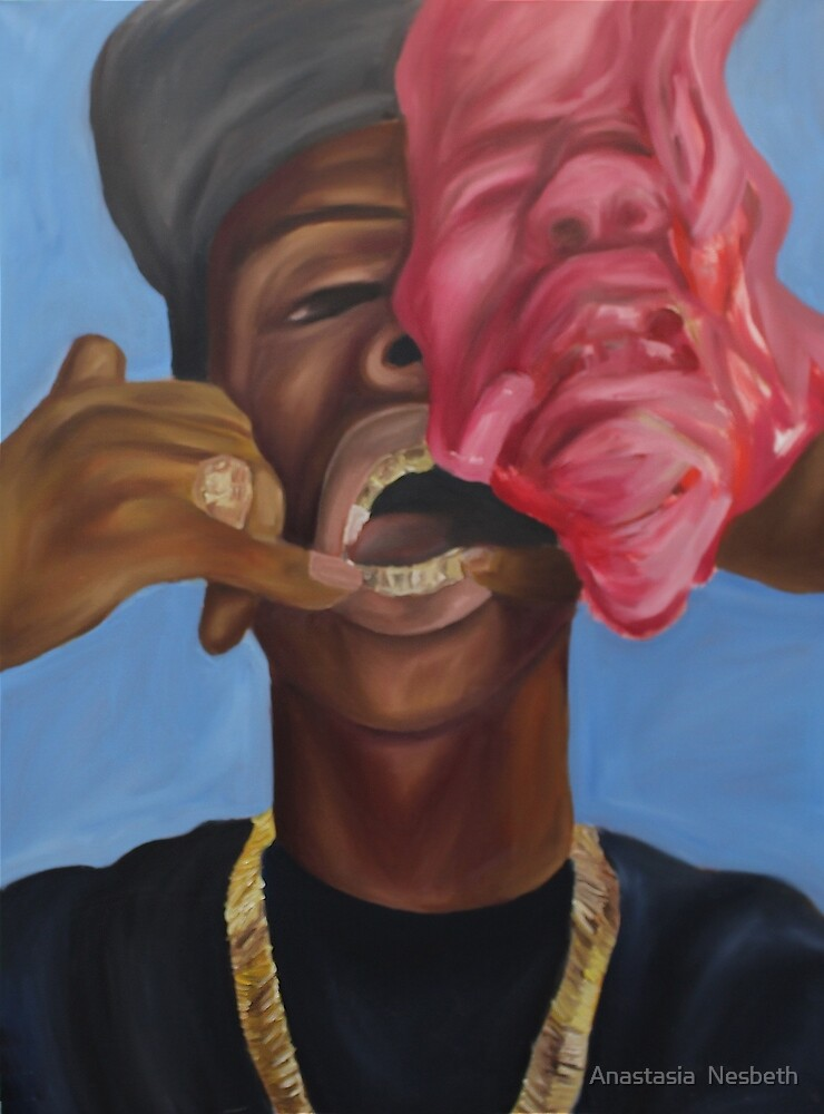 Gold Teeth Have So Much To Say by Anastasia  Nesbeth