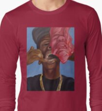 Gold Teeth Have So Much To Say Long Sleeve T-Shirt