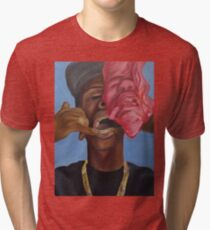 Gold Teeth Have So Much To Say Tri-blend T-Shirt