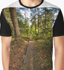 Pathway through the green Graphic T-Shirt