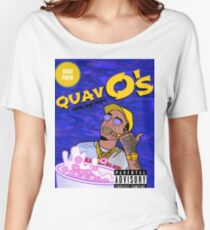 Quavo's Cereal (BLUE) Women's Relaxed Fit T-Shirt