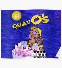Quavo's Cereal (BLUE) Poster