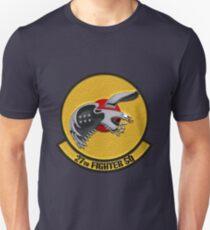 27th Fighter Squadron - 27 FS over Blue Velvet T-Shirt