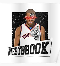 russell westbrook the terminator Poster