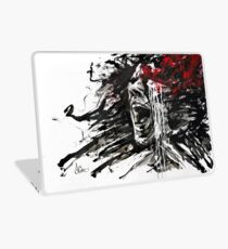 """The Pain of Cluster Headache"" by Agnes-Cecile Laptop Skin"
