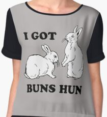 I Got Buns Hun Chiffon Top