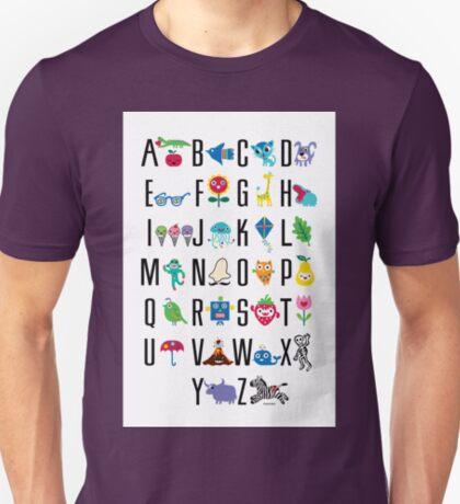 Alphabet Cute  T-Shirt