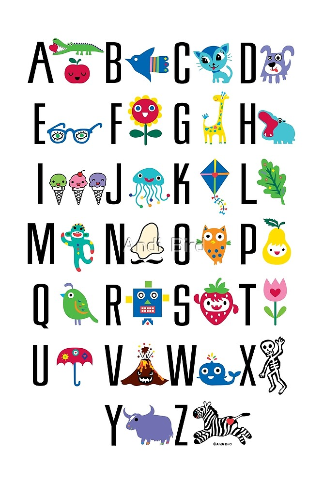 Alphabet Cute  by Andi Bird