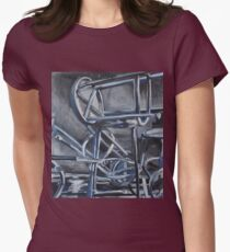 Blue Chairs Womens Fitted T-Shirt