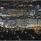 Canberra CBD at Night - as seen from Mount Ainslie (5) by Wolf Sverak