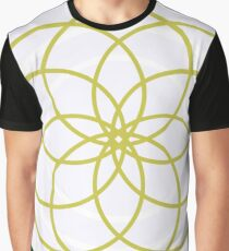 """The Modern Bloom"" Designer Print Graphic T-Shirt"