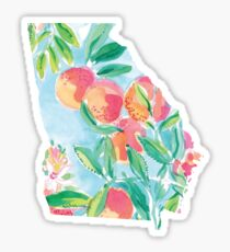 georgia 1 Sticker
