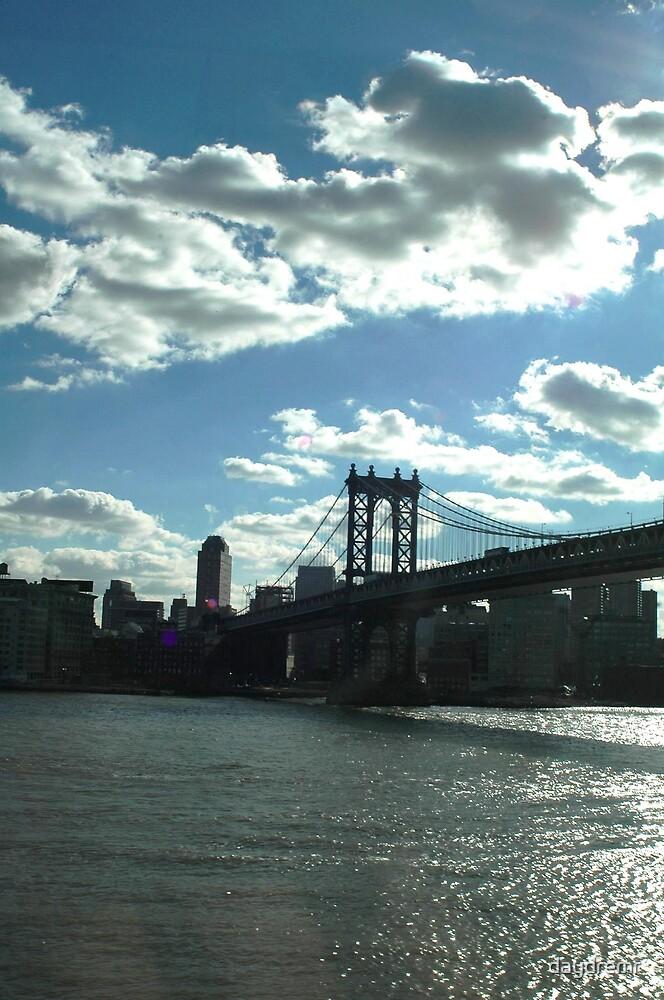 NYC Brooklyn Bridge by daydremr