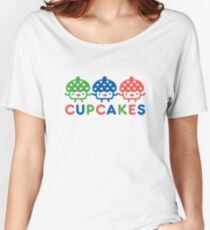 Cupcake Fun primary Women's Relaxed Fit T-Shirt
